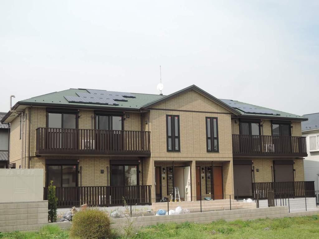 埼玉県さいたま市見沼区、東大宮駅徒歩18分の築2年 2階建の賃貸アパート