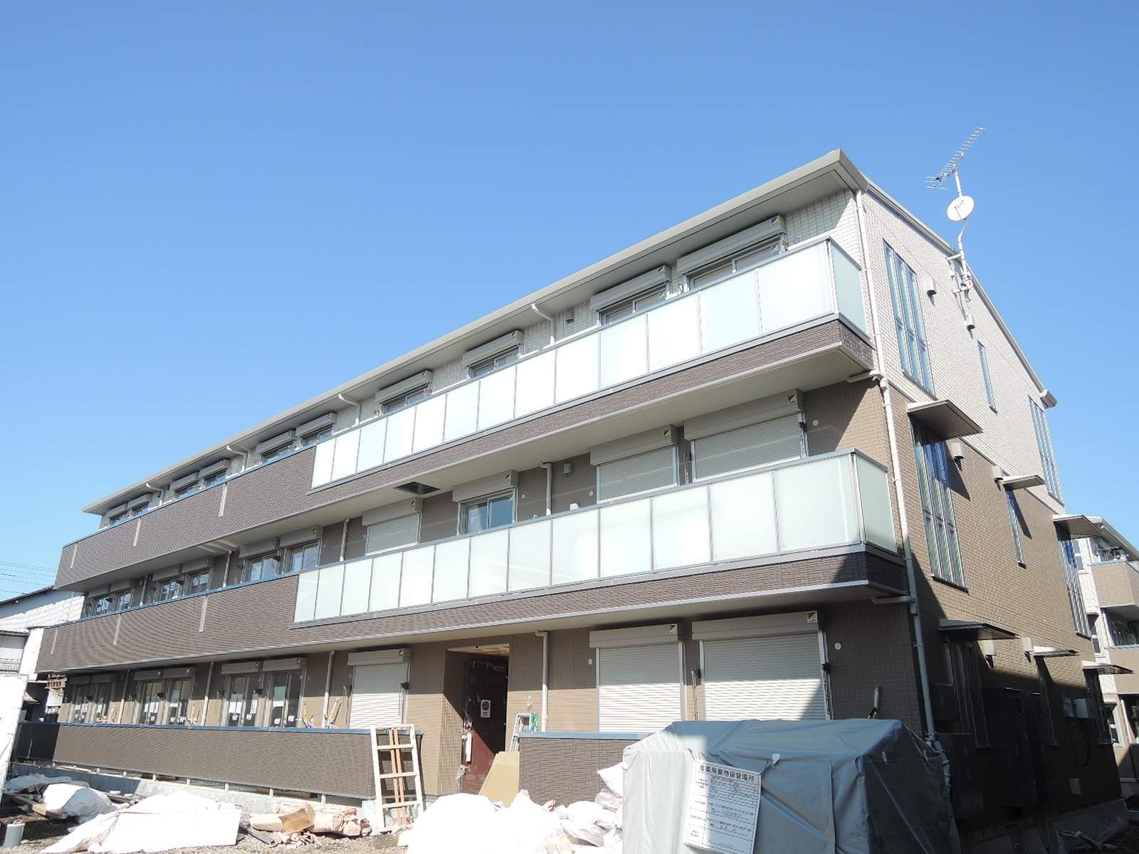 埼玉県さいたま市北区、東宮原駅徒歩12分の築1年 3階建の賃貸アパート