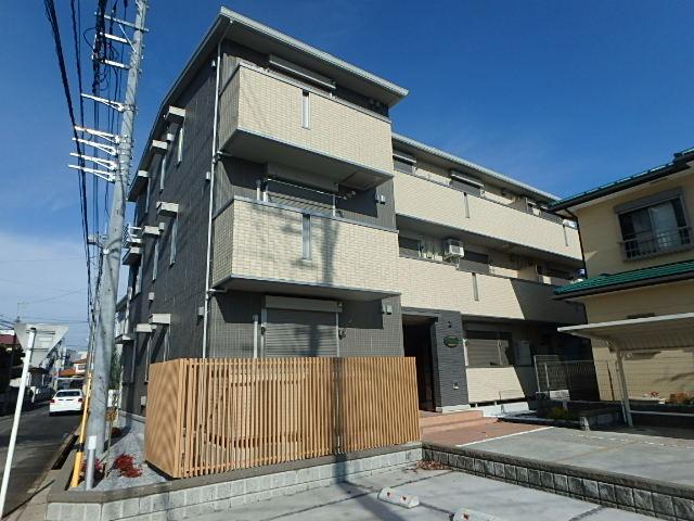 埼玉県さいたま市北区、土呂駅徒歩1分の新築 3階建の賃貸アパート