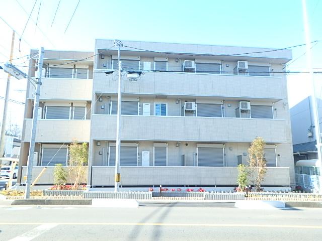 埼玉県さいたま市見沼区、東大宮駅徒歩8分の新築 3階建の賃貸アパート