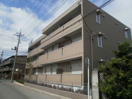 埼玉県さいたま市北区、宮原駅徒歩17分の築5年 3階建の賃貸アパート