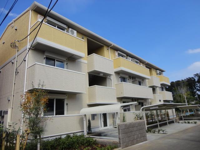 埼玉県さいたま市北区、土呂駅徒歩6分の築3年 3階建の賃貸アパート