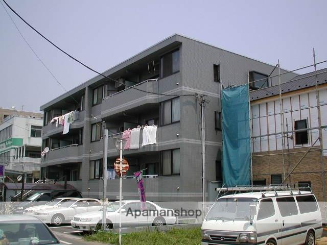 埼玉県さいたま市北区、土呂駅徒歩5分の築21年 4階建の賃貸マンション