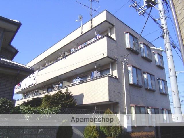 埼玉県さいたま市見沼区、土呂駅徒歩23分の築26年 3階建の賃貸マンション