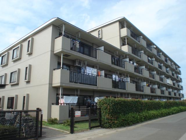 埼玉県さいたま市北区、土呂駅徒歩10分の築22年 5階建の賃貸マンション