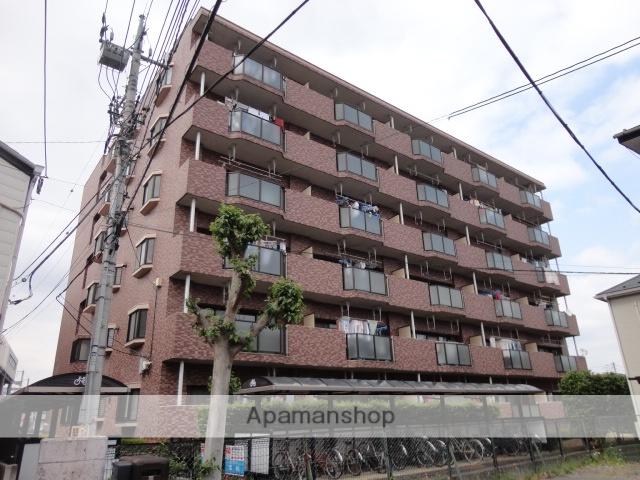 埼玉県さいたま市北区、宮原駅徒歩23分の築19年 6階建の賃貸マンション