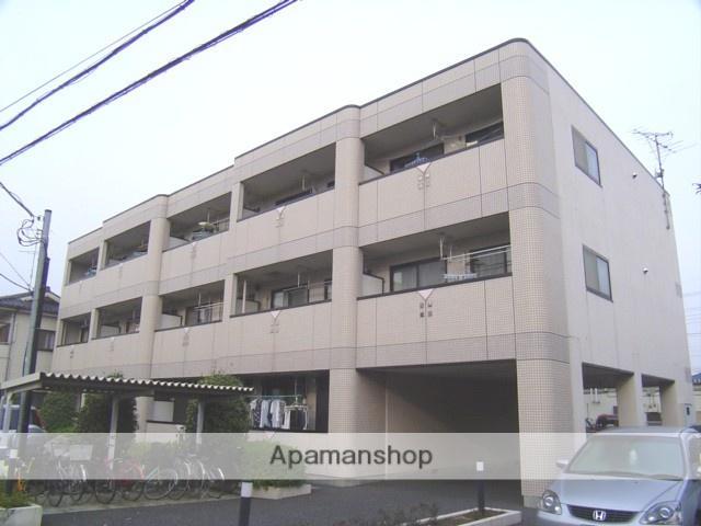 埼玉県蓮田市、蓮田駅徒歩8分の築21年 3階建の賃貸マンション