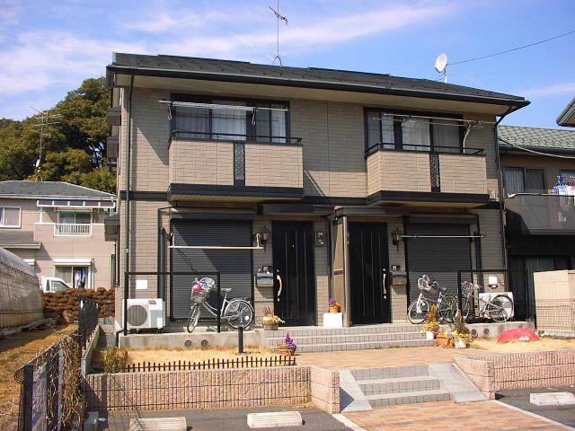 埼玉県さいたま市見沼区、七里駅徒歩17分の築18年 2階建の賃貸テラスハウス