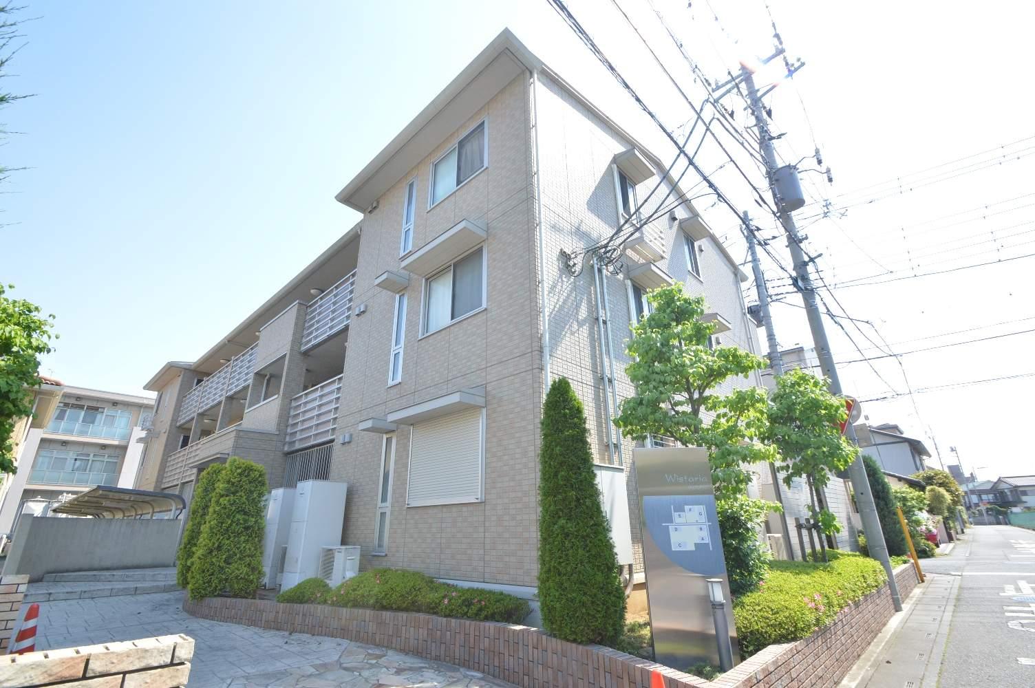 埼玉県さいたま市大宮区、北与野駅徒歩30分の築7年 3階建の賃貸アパート