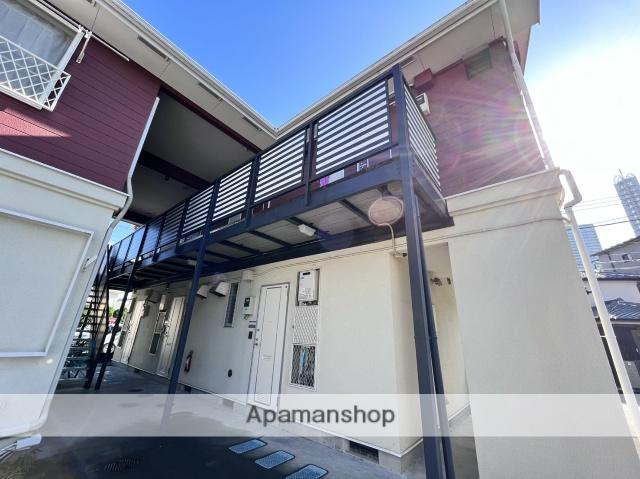 埼玉県さいたま市大宮区、大宮駅徒歩17分の築24年 2階建の賃貸アパート