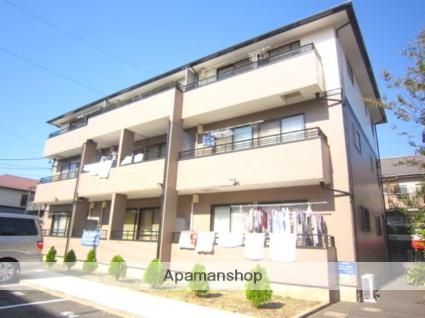 埼玉県さいたま市中央区、与野本町駅徒歩12分の築20年 3階建の賃貸アパート
