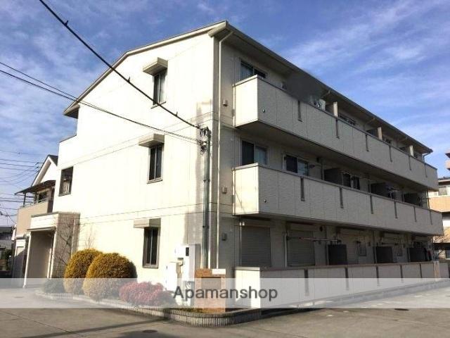 埼玉県越谷市、大袋駅徒歩10分の築9年 3階建の賃貸アパート