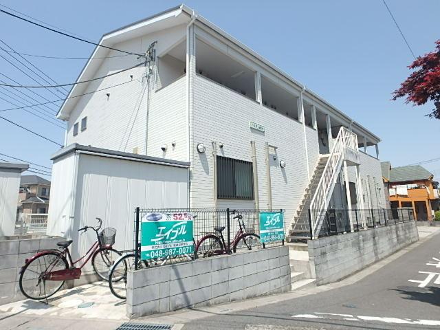 埼玉県越谷市、南越谷駅徒歩27分の築9年 2階建の賃貸アパート