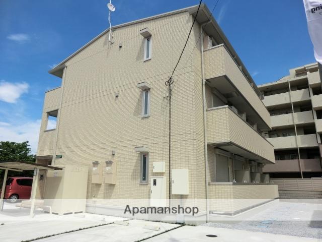 埼玉県春日部市、武里駅徒歩4分の築3年 3階建の賃貸アパート