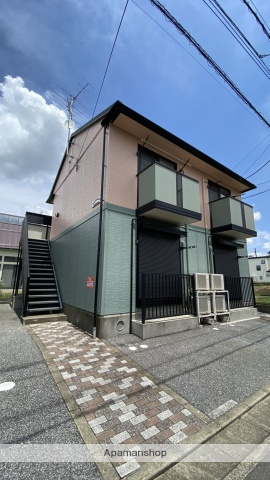 埼玉県越谷市、せんげん台駅徒歩14分の築16年 2階建の賃貸アパート