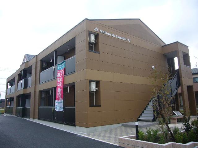 埼玉県越谷市、大袋駅徒歩22分の築8年 2階建の賃貸アパート