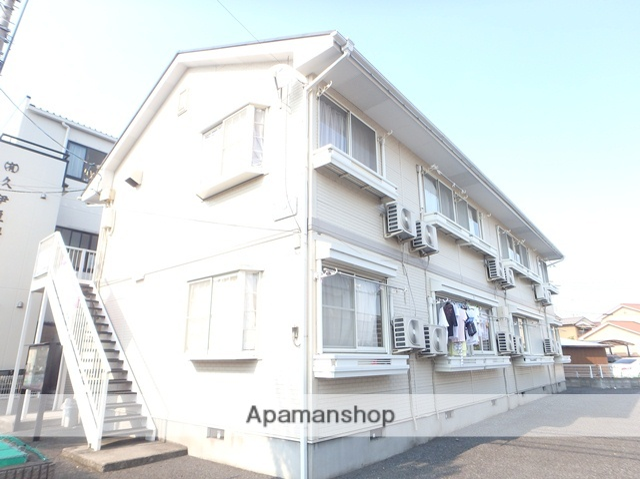 埼玉県越谷市、南越谷駅徒歩15分の築24年 2階建の賃貸アパート