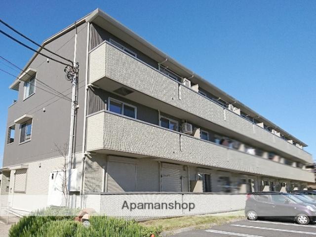 埼玉県越谷市、越谷駅徒歩17分の築7年 3階建の賃貸アパート