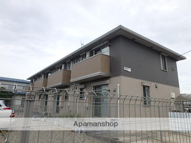 埼玉県越谷市、せんげん台駅徒歩15分の築3年 2階建の賃貸アパート