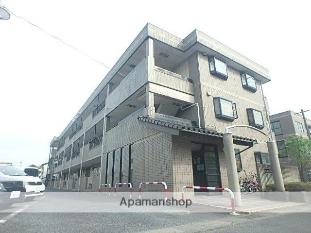 埼玉県春日部市、せんげん台駅徒歩13分の築23年 3階建の賃貸マンション