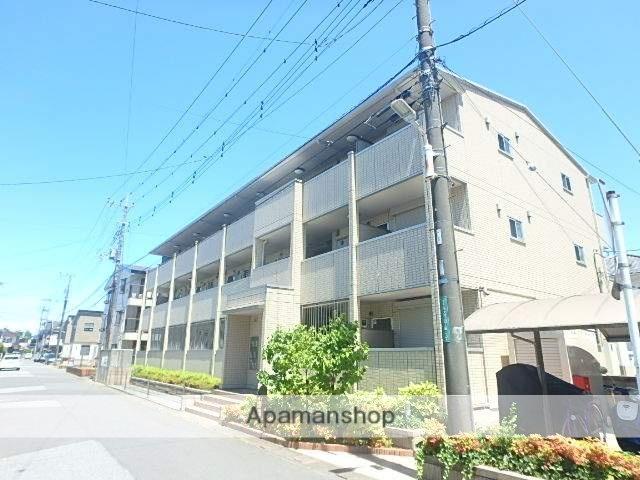 埼玉県越谷市、越谷駅徒歩33分の築5年 3階建の賃貸アパート
