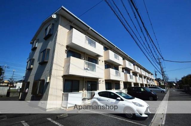埼玉県越谷市、大袋駅徒歩20分の築24年 3階建の賃貸アパート