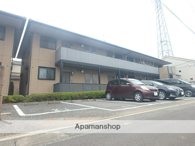 埼玉県越谷市、越谷駅徒歩27分の築15年 2階建の賃貸アパート