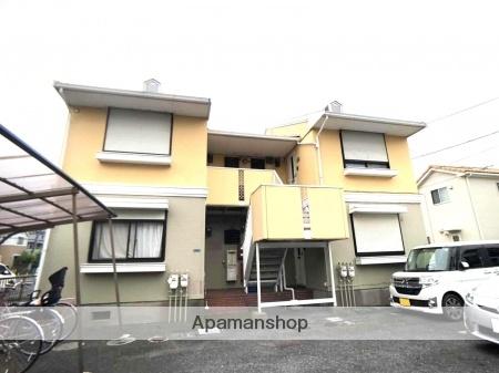 埼玉県春日部市、武里駅徒歩10分の築30年 2階建の賃貸アパート