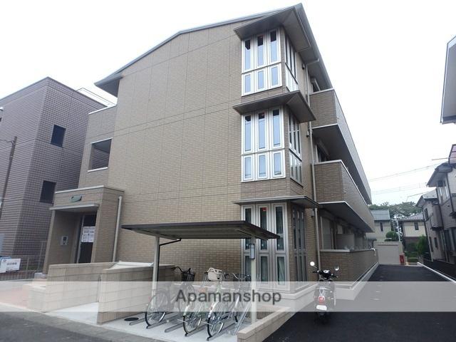 埼玉県越谷市、北越谷駅徒歩11分の築1年 3階建の賃貸アパート