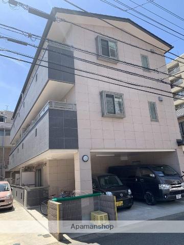 埼玉県越谷市、越谷駅徒歩4分の築1年 3階建の賃貸マンション