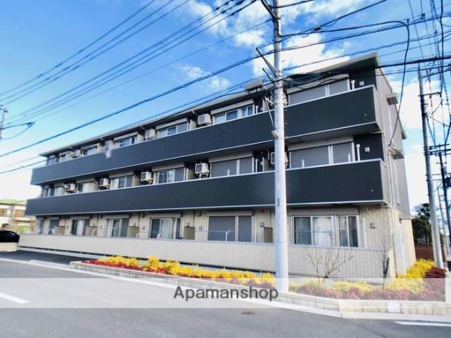 埼玉県春日部市、春日部駅徒歩17分の新築 3階建の賃貸アパート
