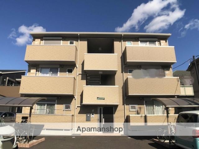 埼玉県越谷市、大袋駅徒歩23分の新築 3階建の賃貸アパート