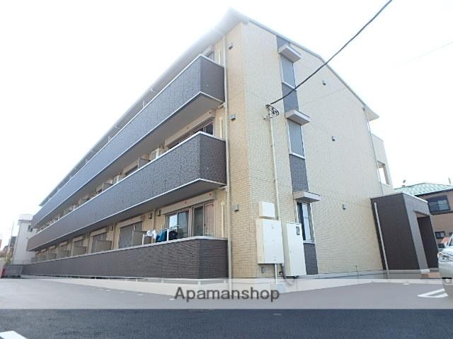 埼玉県春日部市、春日部駅徒歩7分の新築 3階建の賃貸アパート