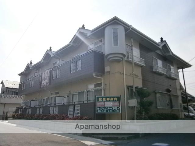 埼玉県越谷市、北越谷駅徒歩37分の築25年 2階建の賃貸アパート