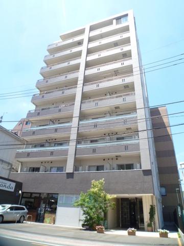 埼玉県越谷市、越谷駅徒歩3分の築8年 10階建の賃貸マンション