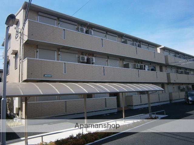 埼玉県越谷市、越谷駅徒歩12分の築4年 3階建の賃貸アパート