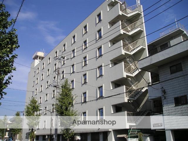 埼玉県越谷市、越谷駅徒歩16分の築43年 7階建の賃貸マンション