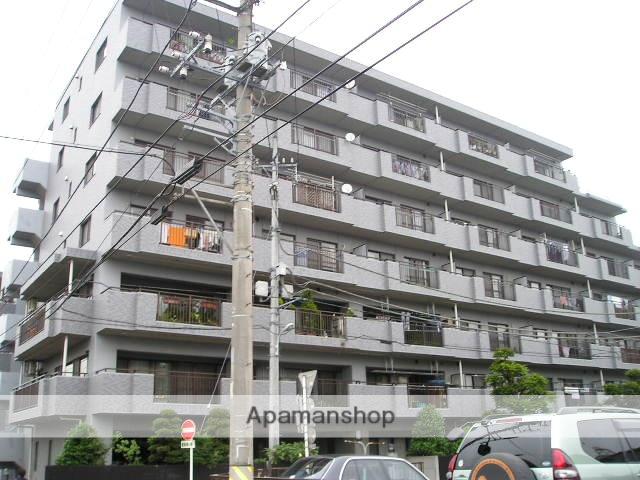 埼玉県越谷市、南越谷駅徒歩18分の築21年 7階建の賃貸マンション