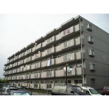 埼玉県越谷市、せんげん台駅徒歩17分の築21年 5階建の賃貸マンション