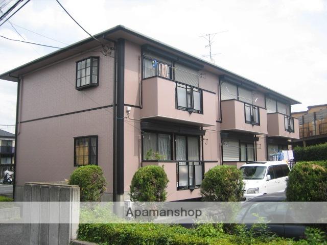 埼玉県春日部市、せんげん台駅徒歩14分の築24年 2階建の賃貸アパート