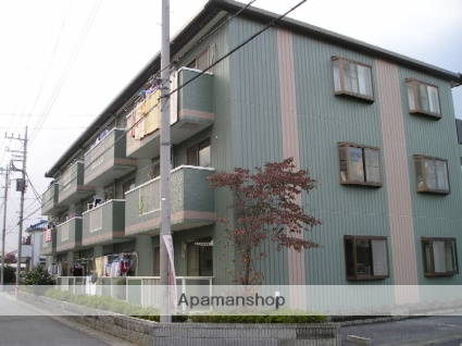 埼玉県越谷市、越谷駅バス7分市立病院下車後徒歩2分の築22年 3階建の賃貸マンション