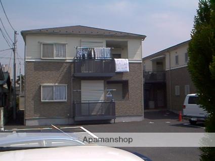 埼玉県越谷市、越谷駅徒歩17分の築22年 2階建の賃貸アパート