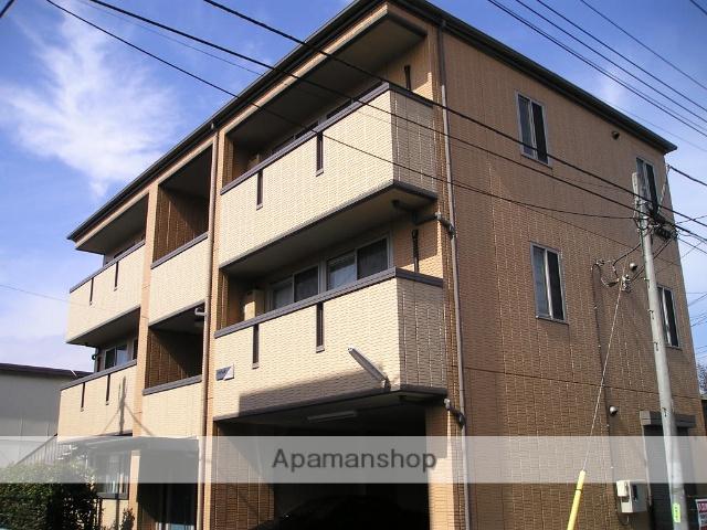 埼玉県越谷市、越谷駅徒歩15分の築15年 3階建の賃貸アパート