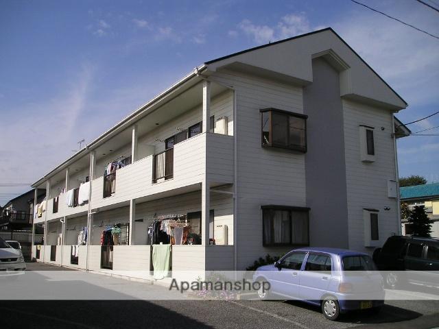 埼玉県越谷市、越谷駅徒歩18分の築27年 2階建の賃貸アパート
