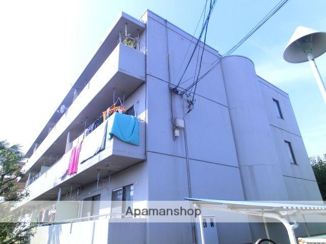 埼玉県さいたま市中央区、南与野駅徒歩17分の築28年 3階建の賃貸マンション