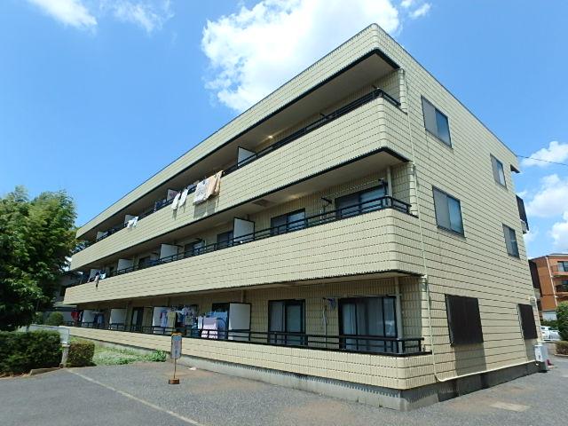 埼玉県さいたま市中央区、与野本町駅徒歩20分の築24年 3階建の賃貸マンション