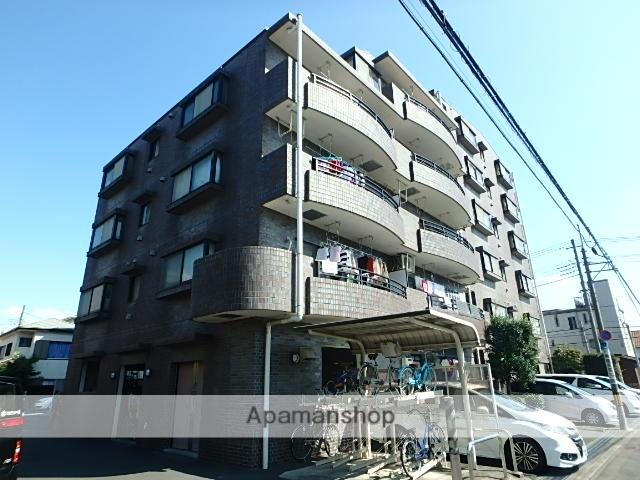 埼玉県さいたま市中央区、与野本町駅徒歩18分の築21年 6階建の賃貸マンション