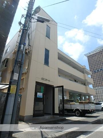 埼玉県さいたま市浦和区、北与野駅徒歩16分の築27年 3階建の賃貸マンション
