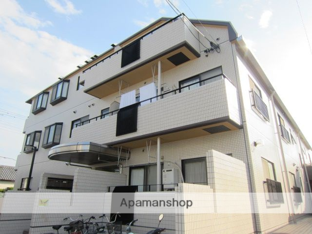 埼玉県さいたま市中央区、与野本町駅徒歩2分の築30年 4階建の賃貸マンション