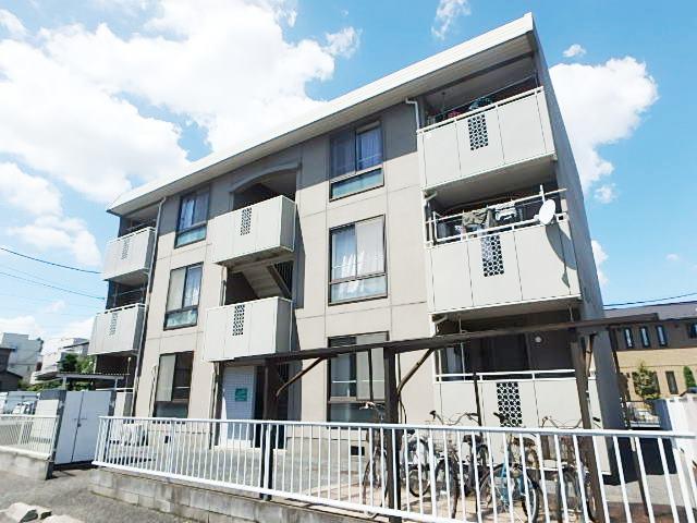 埼玉県さいたま市中央区、与野本町駅徒歩4分の築26年 3階建の賃貸マンション